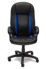 Кресло компьютерное Бриндиси (Brindisi) — черный/синий/черный перфорированный (36-6/36-39/36-6/06)