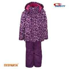Комплект для девочки зима Gusti Boutique 3005 violet