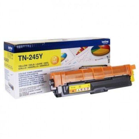 Тонер-картридж TN-245Y yellow для Brother HL-3140CW, 3150CDW, 3170СDW, DCP-9020CDW, MFC-9140CDN, 9330CDW, 9340CDW (2200 стр)