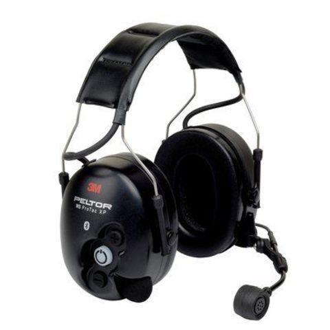 Активные наушники WS ProTac XP, микрофон на жёсткой штанге, стандартное оголовье, Bluetooth, чёрные чашки