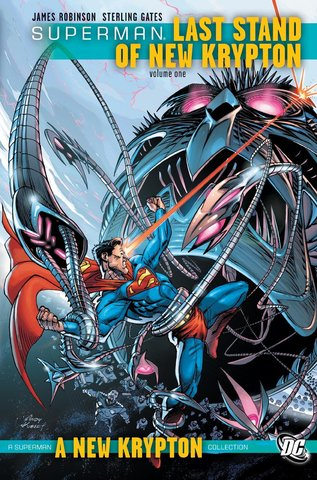 Superman: Last Stand of New Krypton HC