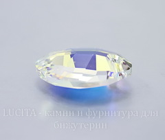 6734 Подвеска Сваровски Листик Crystal AB (23 мм)
