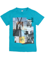 BK003-21 футболка детская, голубая