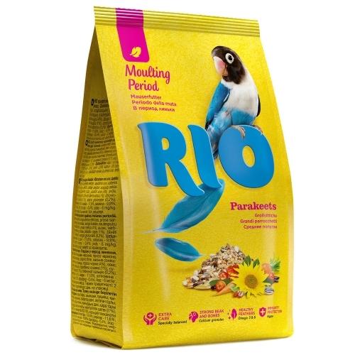 Птицы Корм для средних попугаев, Rio, в период линьки RIO_parakeets_Moulting_period_pachka_r.jpg