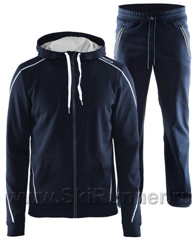 Костюм спортивный мужской Craft In The Zone Full Zip синий