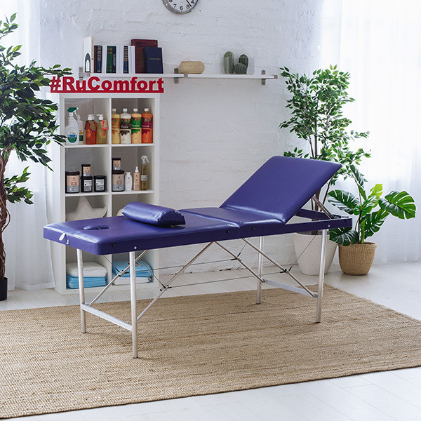 RU Comfort - Складные косметологические кушетки Косметологическая кушетка (180х60x75) Comfort LUX 180/75 1-_186-из-298_.jpg