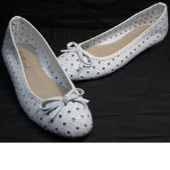 Обувь женская балетки Vasari Gloria 19Y38840 White.