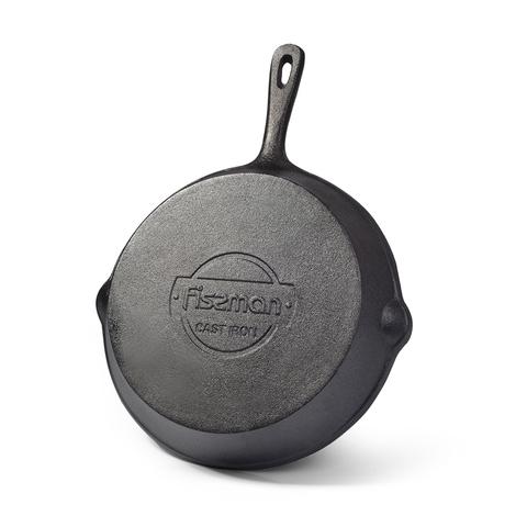 4067 FISSMAN Сковорода гриль чугунная 20 см,  купить