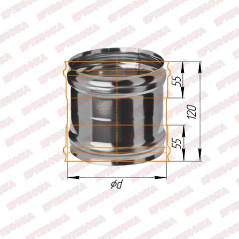 Адаптер ММ d120мм сталь 430, 0,5мм Ferrum