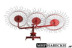 Сеноворошилка 3-х колесная ВМ-3 (Канаш)