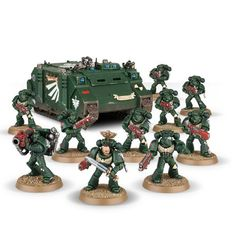 Dark Angels Gauntlet Tactical Squad