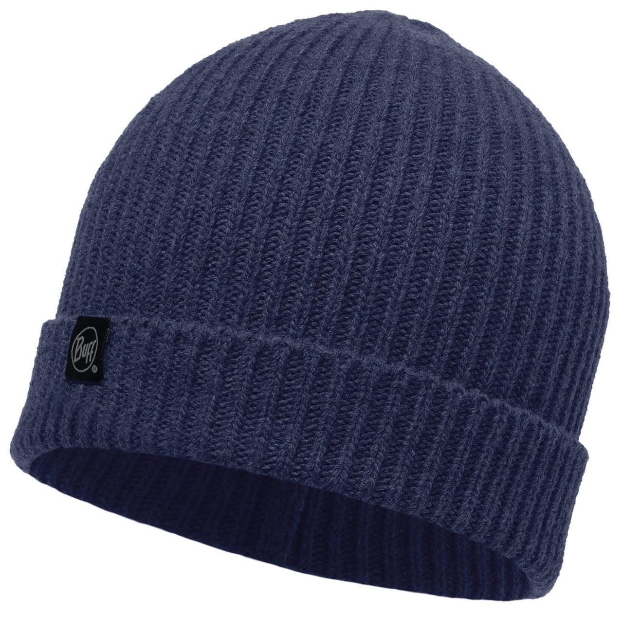 Вязаная шапка Buff Basic Dark Navy