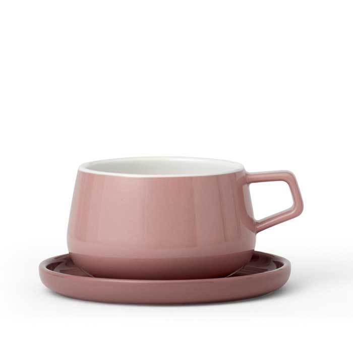 Чайная чашка с блюдцем Ella™ 250 мл, артикул V79750, производитель - Viva Scandinavia