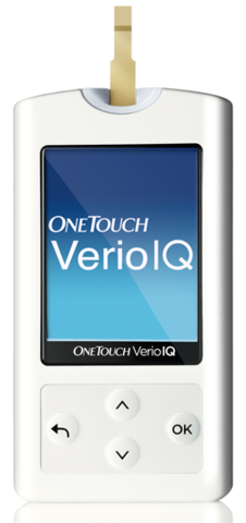 Глюкометр One Touch Verio IQ  (Уан Тач Верио АйКью)