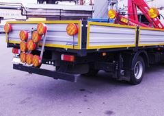 Световая стрелка для дорожных работ