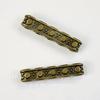 Разделитель на 5 нитей 17х3 мм (цвет - античная бронза), ПАРА