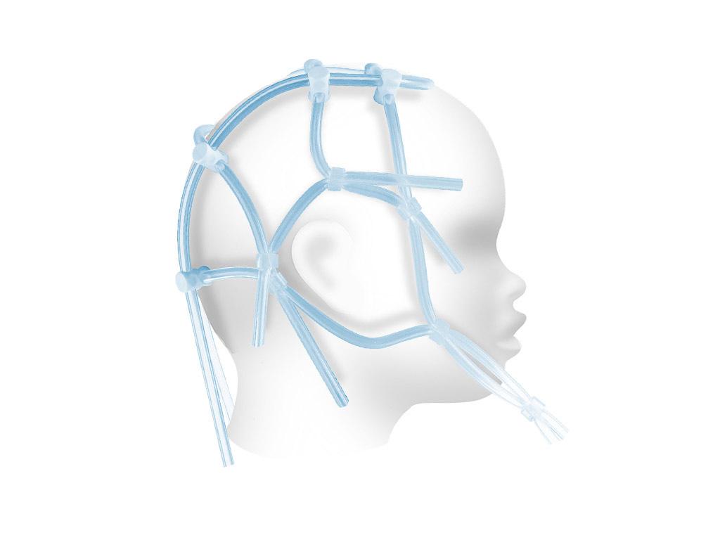 Шлем ЭЭГ 32-38 см для фиксации электродов, детский