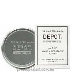Depot The Male Tools & Co Beard & Moustache Butter - Масло для бороды и усов
