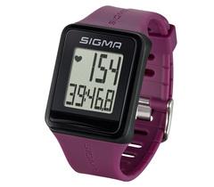 Пульсометр Sigma iD.Go 24510 фиолетовые, 3 функции