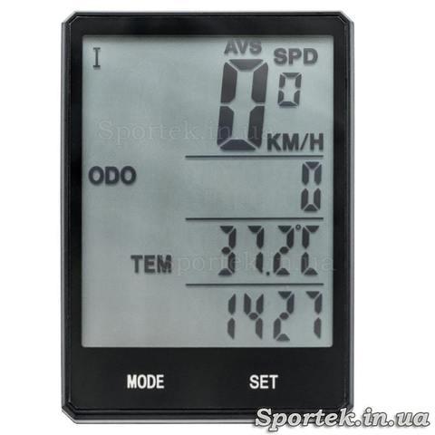 Велокомпьютер E12 (экран 2,8 дюйма)
