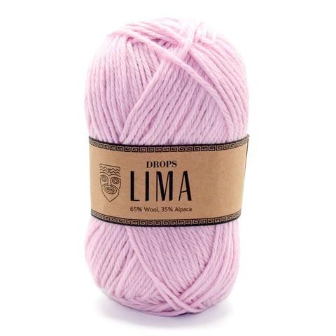 Пряжа Drops Lima 3145 нежно-розовый