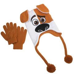 Тайная жизнь домашних животных шапка Макс с перчатками