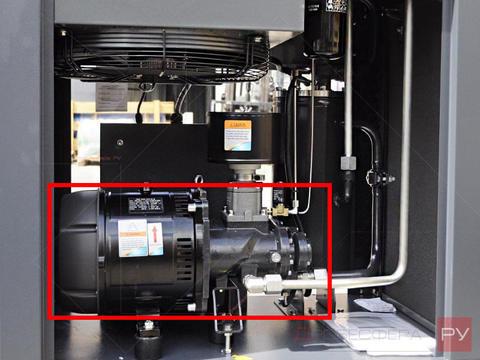 Винтовой блок с электровигателем для компрессора IRONMAC IC 50 З264418