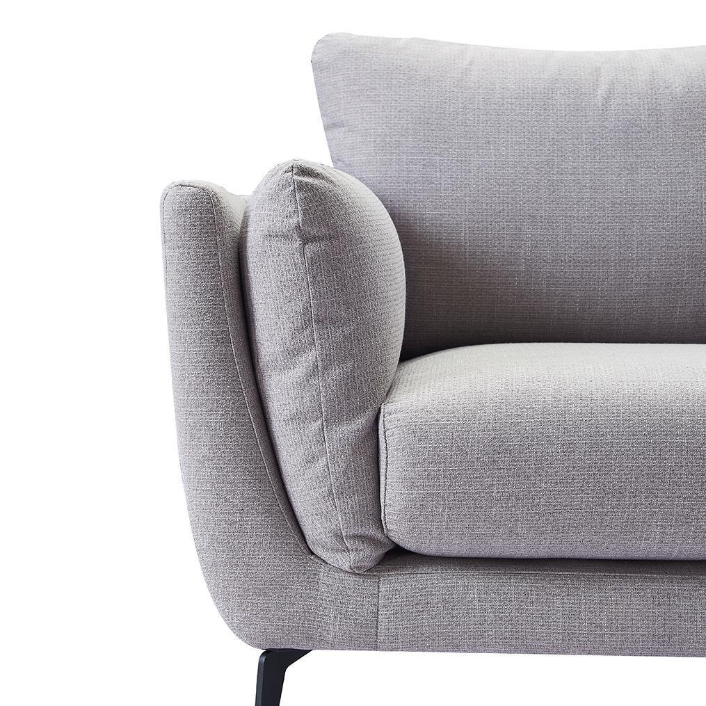 Кресло Amsterdam Серый Никель (NICKEL)
