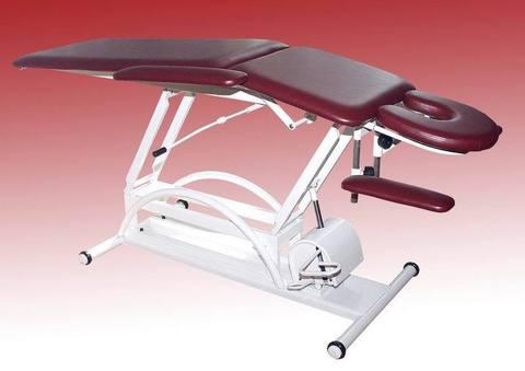 Массажный стол М-2  на гидравлике с 2-мя регулировками  высоты