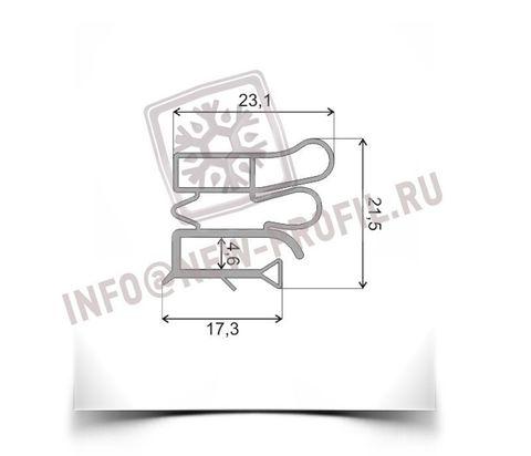 Уплотнитель 90*56 см для холодильника Позис Мир 102-2 (холодильная камера) Профиль 012