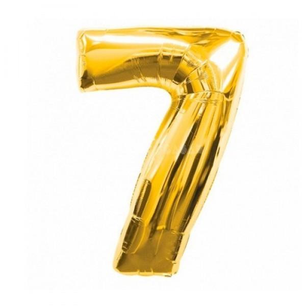 Фольгированные шарики в виде цифр Шар цифра 7 Золото 7_золото-600x600.jpg