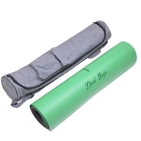 Каучуковый коврик для йоги Hamsa с разметкой 185*68*0,4 см