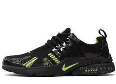 Кроссовки Мужские Nike Air Presto Black Green