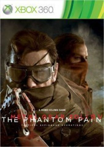 Microsoft Xbox 360 Metal Gear Solid V: The Phantom Pain (русские субтитры)