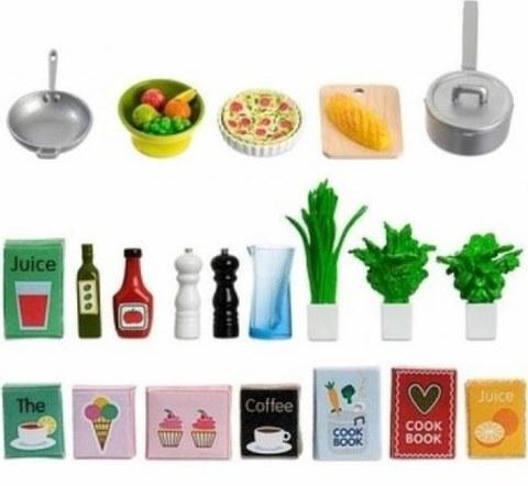Аксессуары для домика Lundby Набор кухонных аксессуаров 21 шт 60508900
