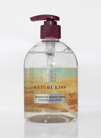 Liv delano Nature Kiss Деликатное жидкое мыло Пшеница & Шелк 480мл