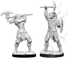 D&D Nolzur's Marvelous Miniatures - Female Goliath Barbarian