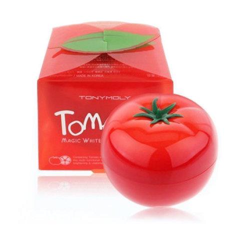 TONY MOLY Осветляющая и выводящая токсины маска для лица Tomatox Magic White Massage Pack, 80 гр