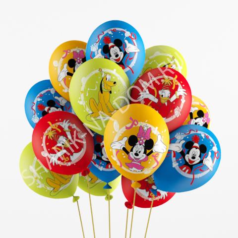 Детям Воздушные шары Микки Воздушные_шары_Микии_Маус.jpg