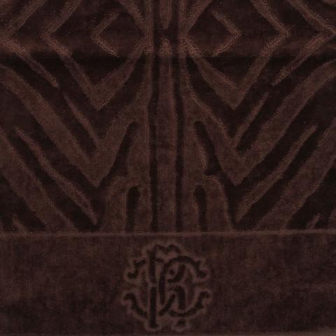 Набор полотенец 3 шт Roberto Cavalli Zebrona коричневый