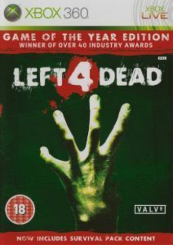 Xbox 360 Left 4 Dead - Game of the Year Edition (русская версия)