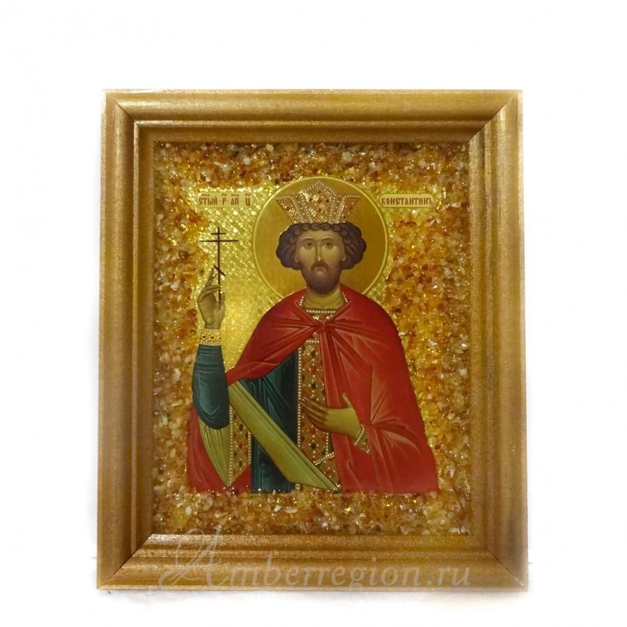 Икона Святого равноапостольного князя Константина