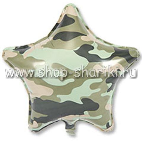Звезда зеленый камуфляж