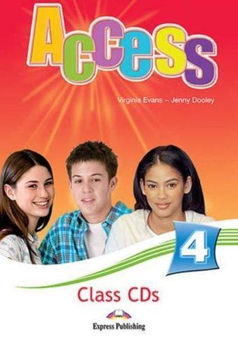 Access 4. Class CDs (set of 5). Intermediate. Аудио CD для работы в классе (5 шт.).