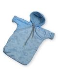 Прогулочный конверт - Голубой. Одежда для кукол, пупсов и мягких игрушек.
