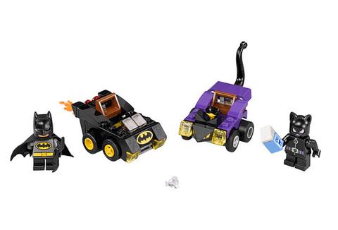 LEGO Super Heroes: Бэтмен против Женщины-кошки 76061 — Mighty Micros: Batman vs. Catwoman — Лего Супергерои ДиСи