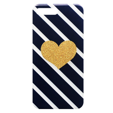 Чехол для IPhone 7 Plus/8 Plus Gold Heart