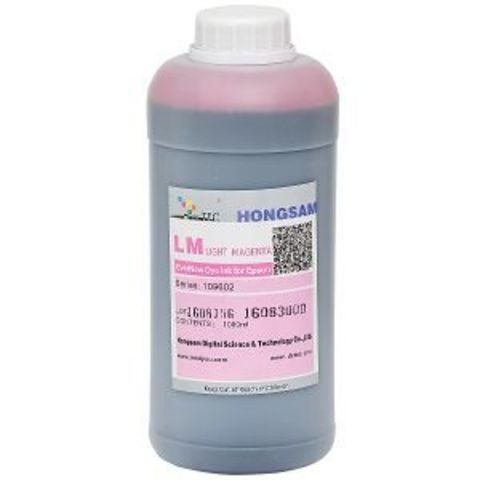 Чернила DCtec light magenta (светло-пурпурный) 1000 мл. Серия 901300 (Ранее 109602)