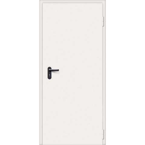 Дверь техническая стальная EI-10 RAL 7035