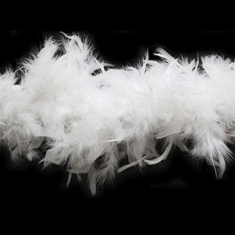 Боа  из перьев индейки 80 гр., 2 м. (выберите цвет)